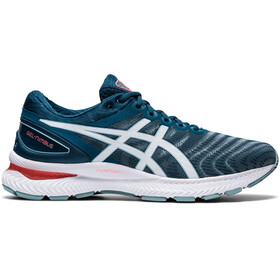 asics Gel-Nimbus 22 Shoes Men light steel/magnetic blue